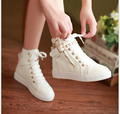 2017 Mujeres de la manera Zapatos del alto estilo Clásico de Lona zapatos planos cordones de los zapatos ocasionales Respirables del Otoño del Resorte Envío Gratis