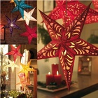 lamp shade Light Shade Festival Lamp Lantern Beautiful Laser Paper New Holiday Lighting Decoration Christmas Lampshade