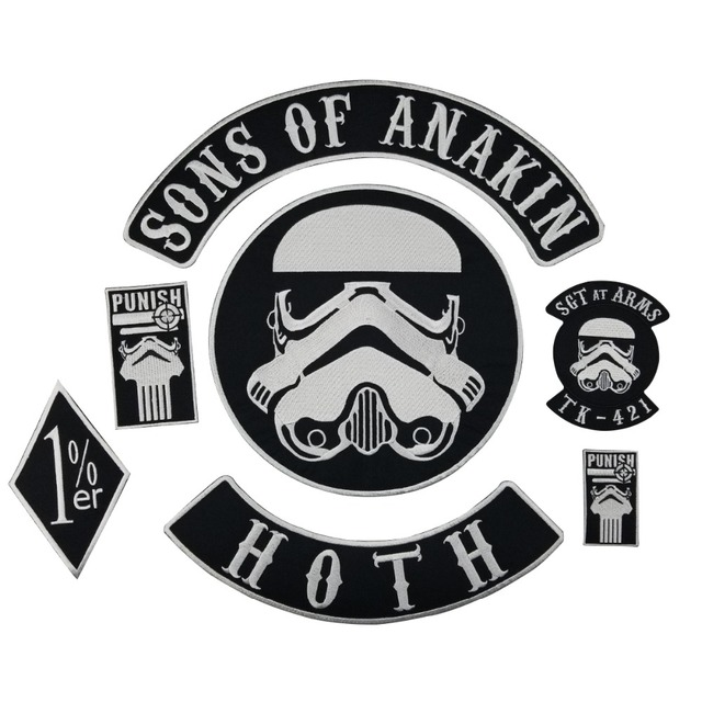 Star wars symbols patch | depressive illusions records.