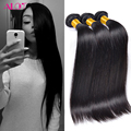 Ms Lula Hair Peruvian Virgin Hair Straight 3 Bundles/Lot 8A Grade Peerless Virgin Hair Peruvian Straight Human Hair Extensions