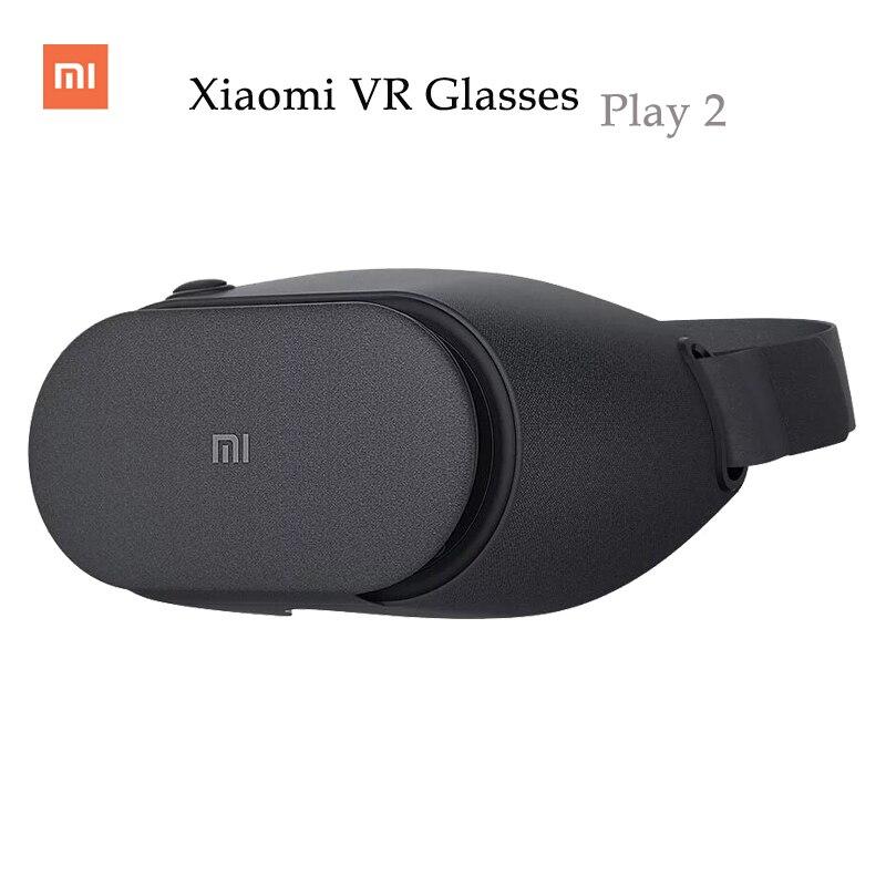 Xiaomi <font><b>VR</b></font> Play 2 Original Mi <font><b>VR</b></font> <font><b>Box</b></font> <font><b>Virtual</b></font> <font><b>Reality</b></font> 3D <font><b>Glasses</b></font> Xiaomi For 4.7-5.7 inch Smart Phones For iPhone Xiaomi