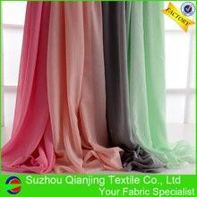 цена Cheap 144 colors fashionable 75D polyester chiffon fabric онлайн в 2017 году