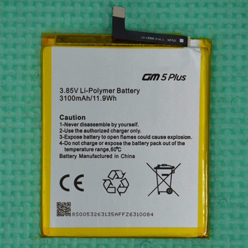 Rush Sale Limited Stock 3100mAh GM5 PLUS Replacement Battery For GENERAL MOBILE High Quality image