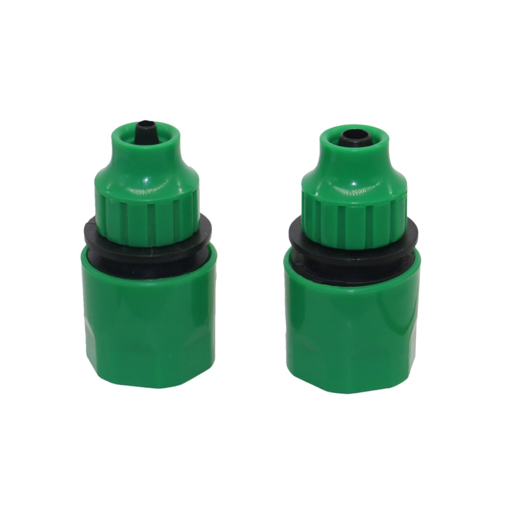 4/7mm 8/11mm Hose Barbed 4/7mm Hose Quick Connectors Garden Wate Irrigation Drip Irrigation Quick Coupling Connecting Tool 1 Pcs