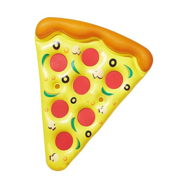 Giant Inflatable Pizza Slice Pool Float For Adults Children Flamingo Unicorn Swimming Ring Water Mattress Pool Toys 3