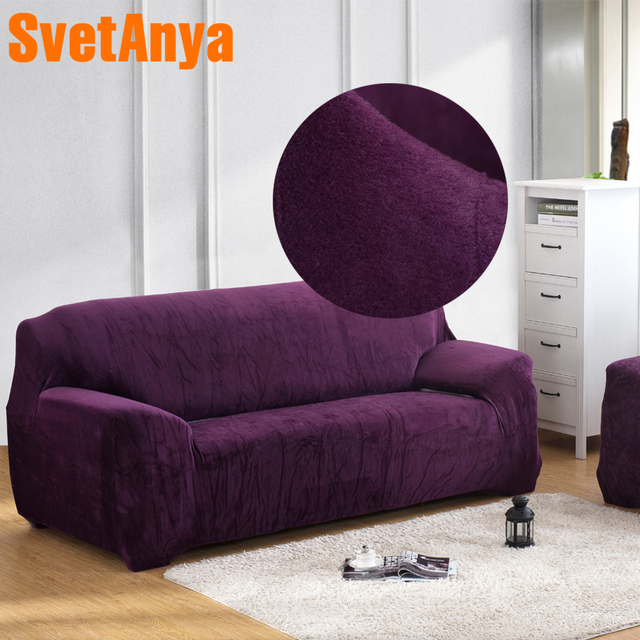 Prime Us 20 61 52 Off Svetanya Warm Fleece Sofa Cover Solid Color Elastic Slipcover For Sectional Sofa Single L Shaped Loveseat Sofa Couch Case In Sofa Pdpeps Interior Chair Design Pdpepsorg