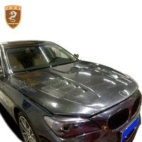 Carbon Fiber Hood Bonnet Cover For 7 Series F01 F02 Carbon Engine Hood Cover Car Modification Car Styling