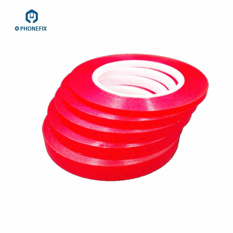 PET_Red_Film_Clear_Double_Sided_Tape