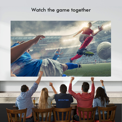 119$ Clearance Sale BYINTEK BL126 HDMI LCD Home Theater HD Video Portable LED Projector Lahore
