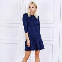 Casual Three Quarter Sleeve Dress