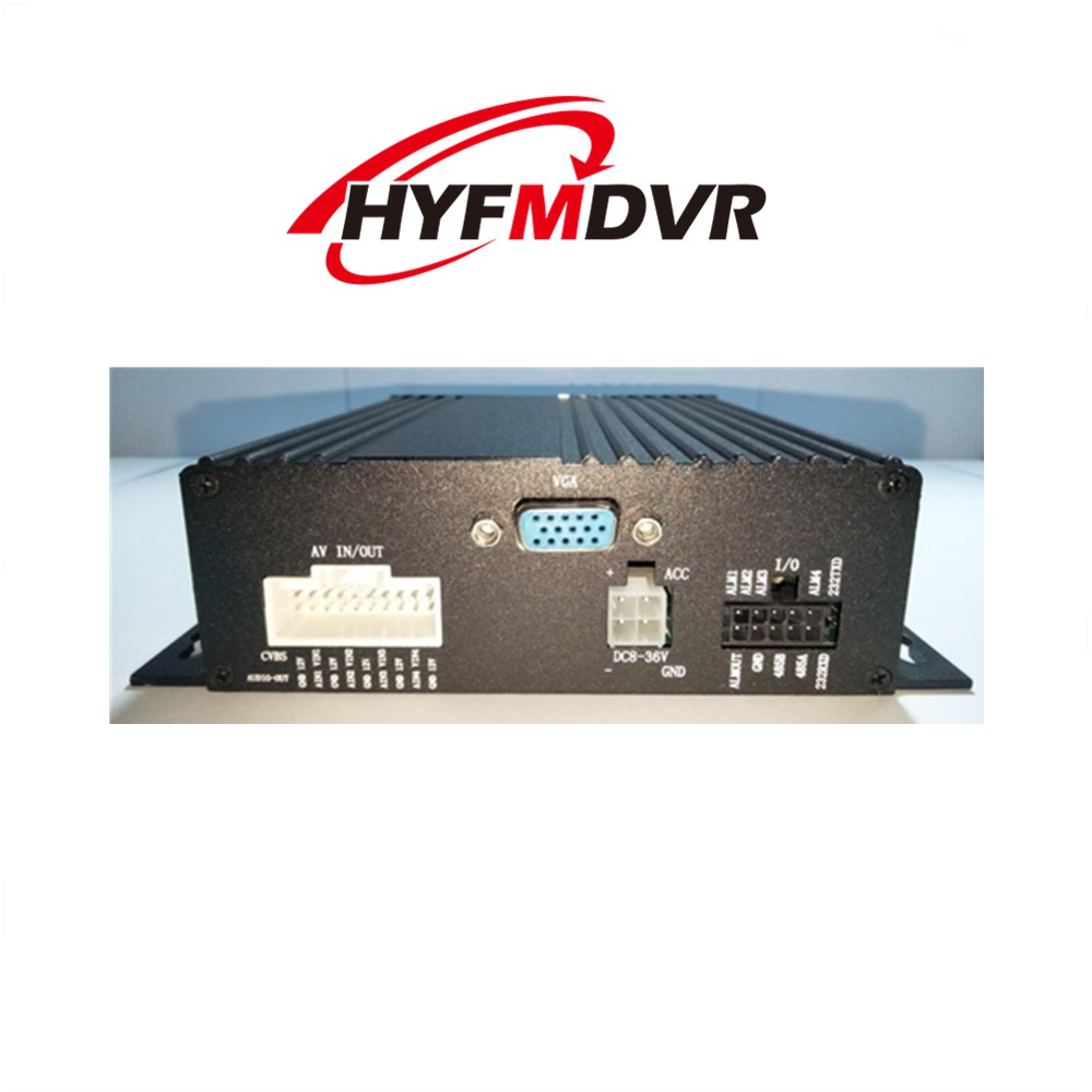 Dual SD card 4CH mdvr coaxial video recorder ntsc/pal monitor host can be customized ahd mdvr taxi special turkish menu ntsc pal vcr
