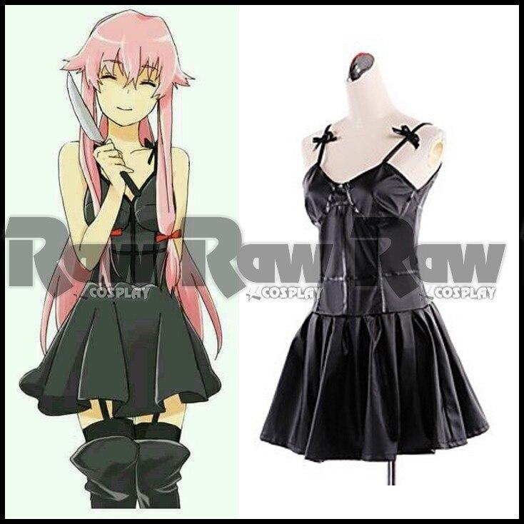 Traje del Anime Mirai Nikki Gasai Yuno cosplay ropa el ...