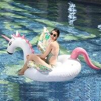 YUYU New 200cm Inflatable Pegasus Unicorn Swimming Pegasus Float Pool Float for Adult Tube Raft Swimming Ring Summer Water Toy
