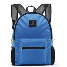 Casual Fashion Backpack Women Leisure Travel Backpacks For Teenage Girls School Bags Female Nylon Waterproof Folding Rucksack 17(China)