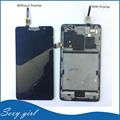 New S898T+ LCD For Lenovo  S898T  Display Touch Screen Assembly With Frame Original Replacement Parts Black + Free Tools
