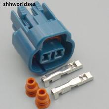 Shhworldsea 5/30/100 Декодер каналов кабельного телевидения 2,0 мм 2-полосный инжектор разъем комплект для toyota new 6189-0031