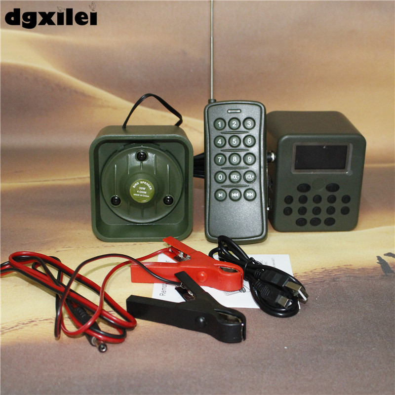 Xilei Outdoors Bird Multi Sound Caller 50W 150Db Remote Control 898B Digital Duck Call With Timer
