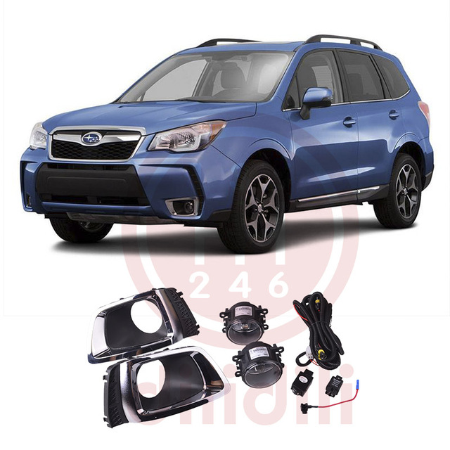US $108 0 |OEM Fog Light Lamp Kit for Subaru Forester sport Turbo 2014 2015  2016 2017 2018 2019 SAE-in Car Light Assembly from Automobiles &