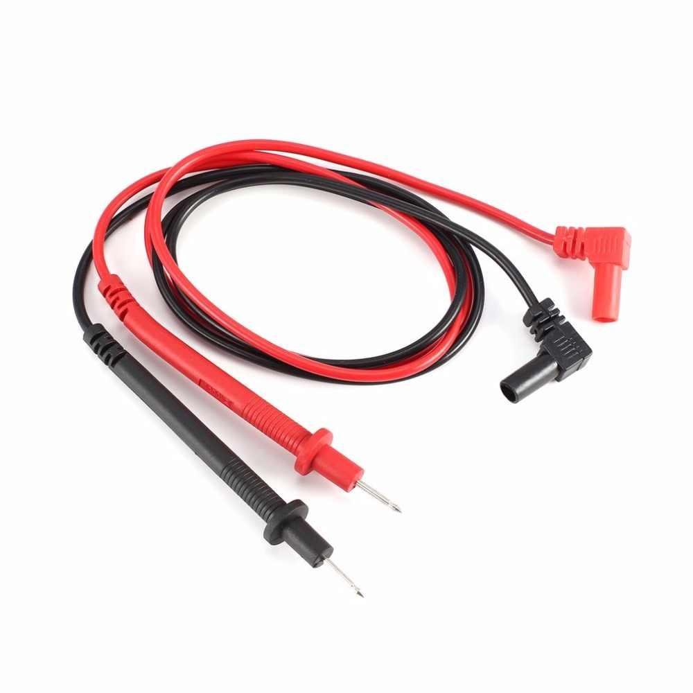 Multímetro Digital sonda universal CABLE DE PRUEBA Pin punta de aguja multímetro probador pluma de comprobación de cable 2A/1000V CAT2 1 par