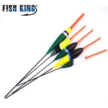 FISH KING 5pcs Bobbers Fishing Float Set Grasp Sequence Floats Fishing Gentle Stick 26cm 2g/3g/4g/6g Fishing Bobber