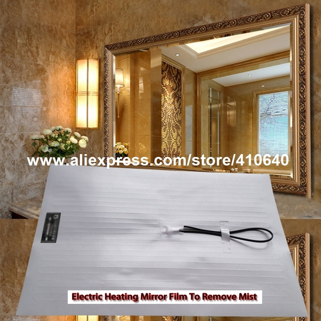 Antifog Film For Bathroom Mirror Electric Heating Mirror Film