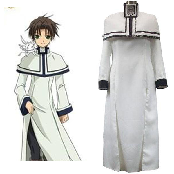 07-Ghost Teito Halloween Cosplay Costume White Uniform Japanese Anime Cosplay Halloween Costumes
