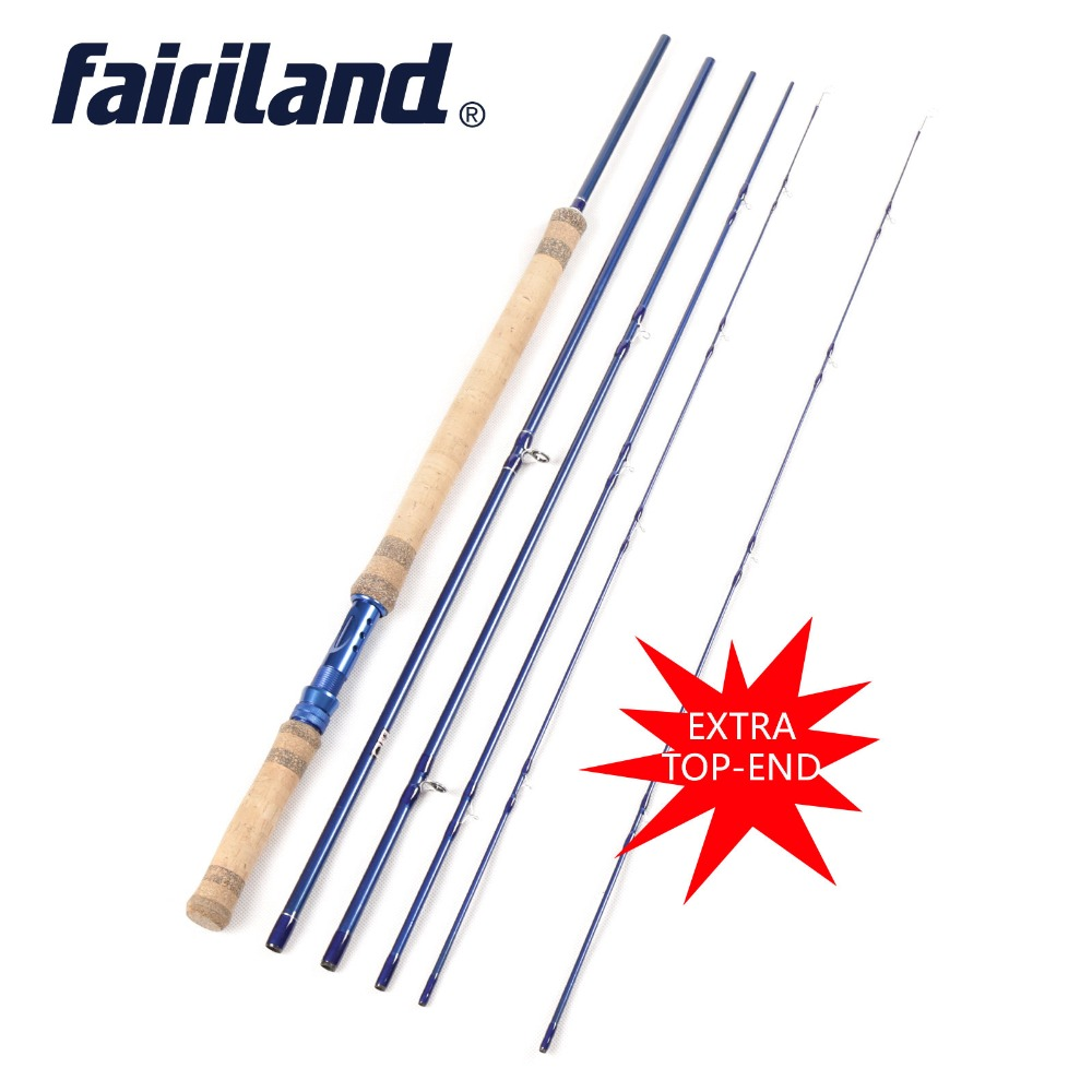2020 Improved 5 Section Fly Fishing Rod With Extra Top End Tip Free shipping 2
