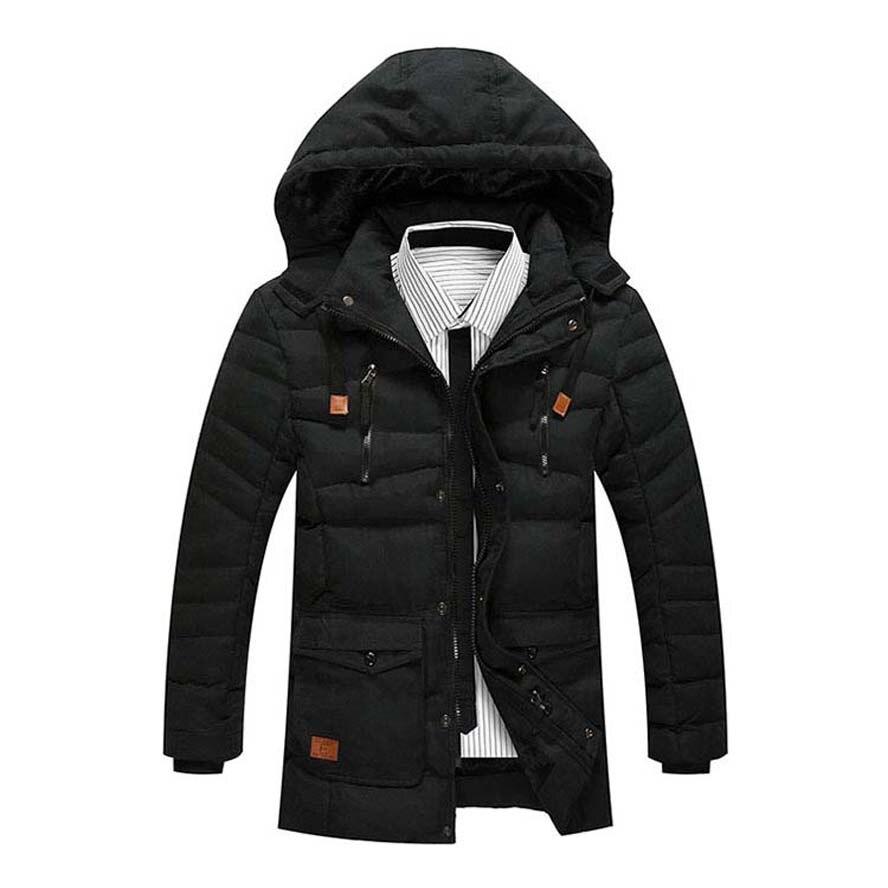 2017 зимняя куртка высокого качества мужские модные мужские Куртки хлопчатобумажное пальто с флисовой Бесплатная доставка