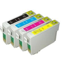 4 чернила 89/71 T0711-T0714 T0715 совместимый чернильный картридж для EPSON Stylus SX100/SX110/SX105/SX115/SX200/SX205/SX209/SX210 принтера