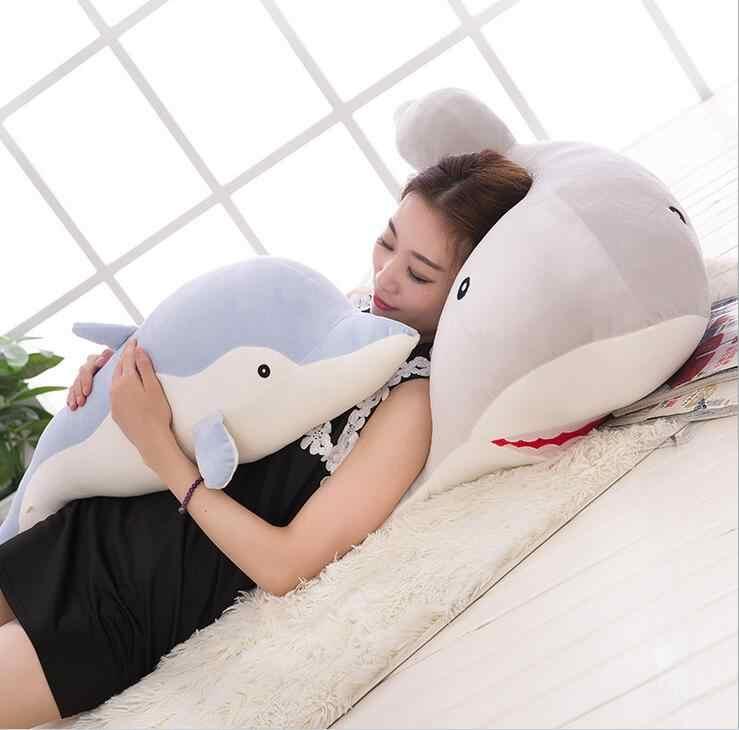 Bolafynia dolphin пуховая подушка кукла плюшевые игрушки Акула Мягкие игрушки на день рождения Рождественские подарки Детская плюшевая игрушка