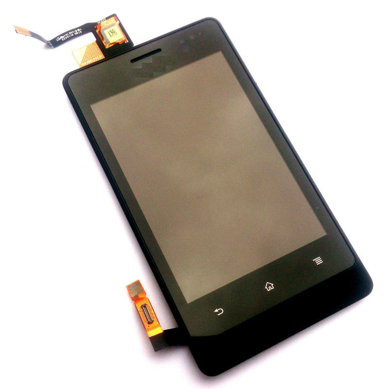 For 5Pcs/lot Xperia Go ST27 ST27i Original New Black Color LCD And Touch Screen Digitizer Assembly