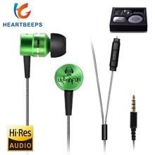URBANFUN HIFI 3 5mm In Ear Earphone Hybrid Drive Metal font b Headset b font Monitor