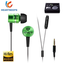 URBANFUN HIFI 3.5mm In Ear Earphone Hybrid Drive Metal Headset Monitor Stereo with Micphone