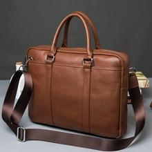 Brand Leather Bag Casual Men Handbags Men Crossbody Bags Men's Travel Bags Tote Laptop Briefcases Men's Bag