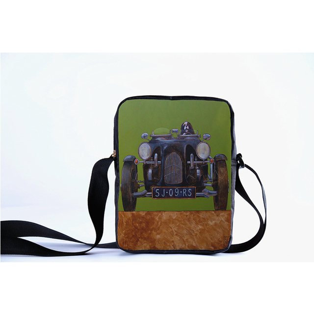 3088dc28b6 CROWDALE Women Messenger Bags 3D-Denim cars Shoulder Bag Handbags fashion  car Ladies Crossbody Spain Bag Messenger Bag