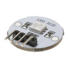 Цвета сменный светодиодный модуль лампы Расширительная доска для 51/AVR/ARM/Arduino 5050 SMD Полноцветный RGB