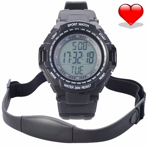 Fashion-3ATM-Waterproof-Wireless-Heart-Rate-Monitor-Sport-Fitness-Watch-With-Chest-Strap-Outdoor-Running-Fitness