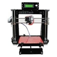 Geeetech i3 Prusa Pro B Marco De Acrílico de La Impresora 3D de Alta Precisión Impressora Kit DIY LCD Envío 2016 Más Nuevo de La Máquina