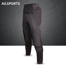 Мужские профессиональные футбольные тренировочные брюки, брюки вратаря, шорты, губка, футбольные ворота, хранитель регби, брюки, Вратарские спортивные штаны