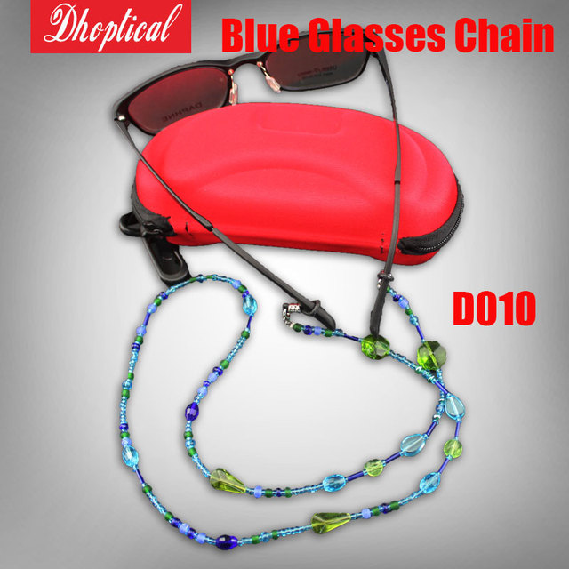 free shipping sunglasses chain ,glasses cord all blue becautiful