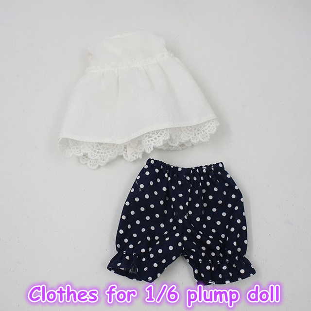 Suit Clothes For Plump Blyth Sleeveless With Lace and Pants
