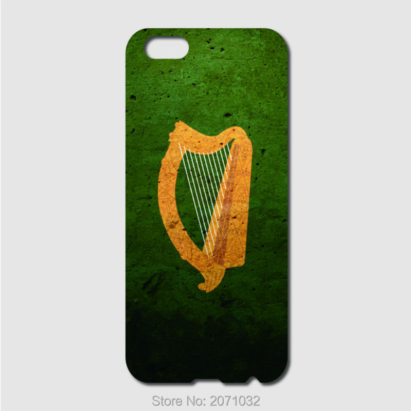 Coat of arms harp ireland Flag Case For iPhone 6 6S 7 8