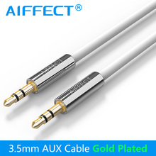 AIFFECT Jack 3.5mm Cable Auxiliary AUX Audio Cord Line Wire for Car Headphone Home Stereos Phone MP3