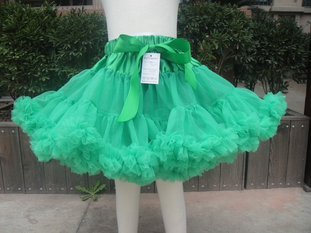 Free shipping Baby Girls Multi-List Solid Color Petty Bow-knot Kids Children Dance Tutu Skirt PETS-174