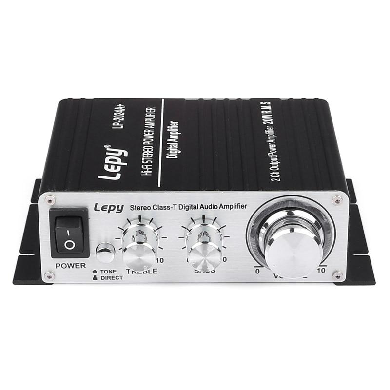 Lepy LP-2024A Class T 2X20W HI-FI Stereo Class-T Digital Audio Car Amplifier 5A power supply ботильоны pampa hi t wp