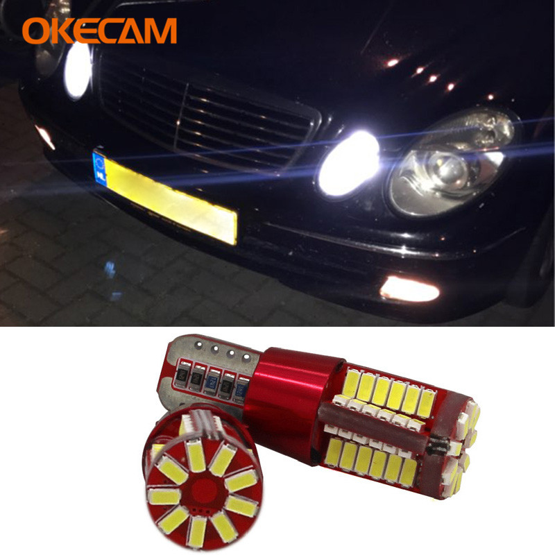 2PCS CANBUS T10 W5W LED Car Clearance Lights Parking Light For <font><b>Mercedes</b></font> Benz W203 W204 W211 W124 W210 W202 W220 W164 W222 X204 image