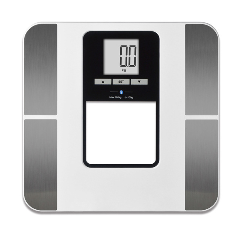 Body Fat Composition Sensor Monitor BMI Home Bathroom Weighing Scale 400lb