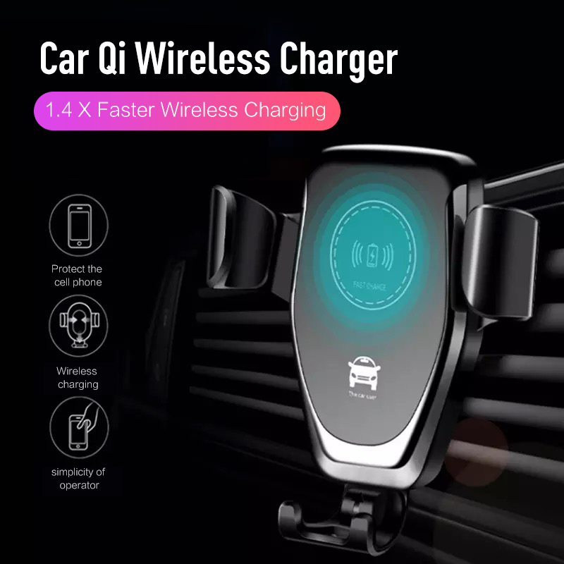 Qi Wireless Charger for IPhone X/XS Max XR 8Plus 6 7 Plus Visible Wireless Charging Pad for Samsung S10 S9 Note9 8 Type C Phone