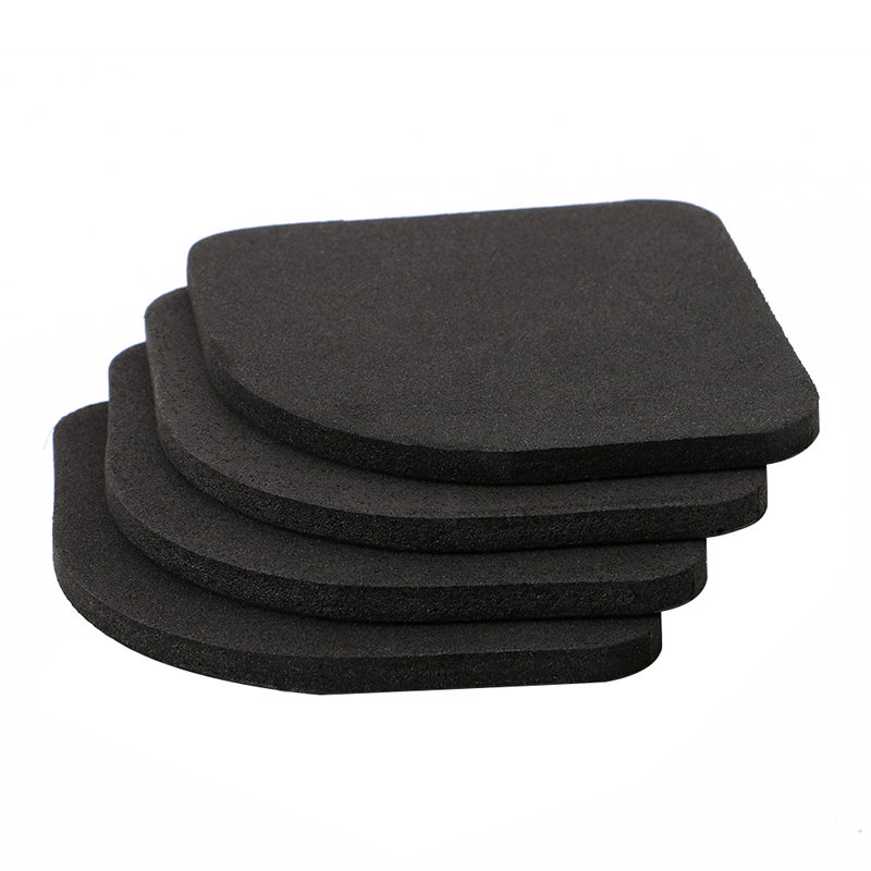 Mexi 4 Pcs Multifunctional Anti Vibration Mat For Refrigerator Washing Machine Pads