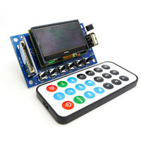 LCD 12v MP3 Player Decording Moulde WMA WAV Decoder Audio Board FM Radio Bluetooth Audio Receiver